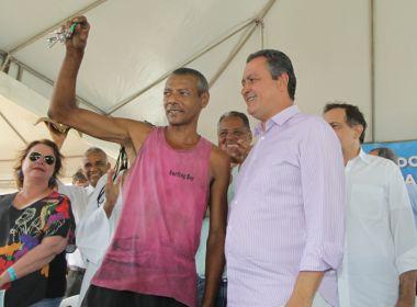 Rui entrega imóveis para 137 famílias no bairro de Nova Esperança, em Salvador