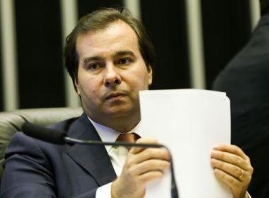 Rodrigo Maia vai engavetar reforma da Previdência se texto não reunir votos no prazo