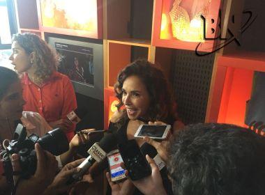 Daniela Mercury diz que vai 'pressionar' prefeitura para resolver problema com Ecad