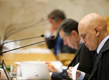 Alexandre de Moraes vota a favor de prisão após condenação em segunda instância