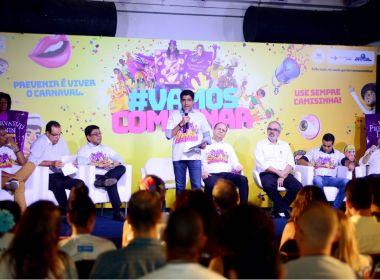 Carnaval: Campanha de prevenção a DSTs é lançada em Salvador