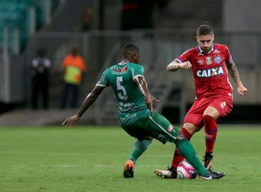 Com três gols de Hernane, Bahia atropela o Vitória da Conquista na Arena Fonte Nova