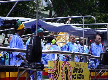 Com Andrew Tosh, Olodum fecha seu último dia em desfile sem cordas