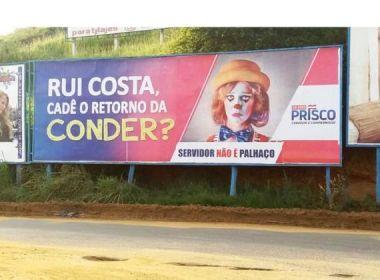 Propaganda antecipada: TRE-BA determina que Prisco retire outdoors críticos a Rui