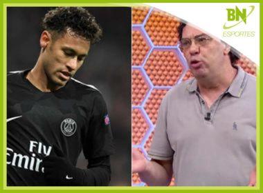 Destaque em Esportes: Para contratar Neymar na Copa, Globo deve demitir Casagrande