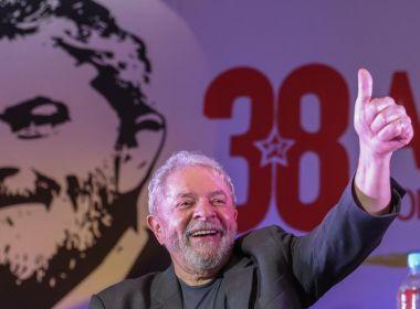 Lula afirma que, caso seja candidato, 'não vai sobrar uma vaga pro segundo turno'