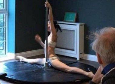 Asilo contrata praticantes de pole dance para entreter idosos