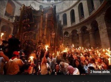 Protesto de líderes religiosos fecha Igreja do Santo Sepulcro em Jerusalém