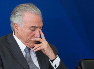 Barroso autoriza quebra de sigilo bancário de Temer em inquérito do setor de Portos