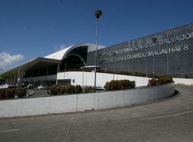 Parte do teto do Aeroporto de Salvador desaba; chegada e saída de voos não sofrem prejuízos