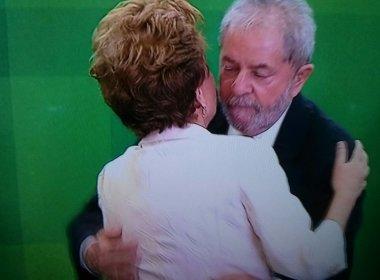 Em posse, Lula ofusca Dilma
