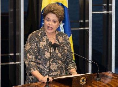 Dilma no Senado se perdeu nas palavras
