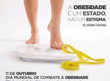 Caminhada neste sábado alerta para riscos da obesidade