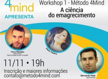 Workshop discute mudança na relação com a comida como estratégia para emagrecimento