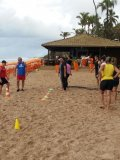Rede de academias realiza projeto de aulões gratuitos na praia
