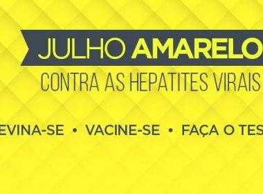 Julho Amarelo: Sesab recomenda vacinação contra Hepatite B