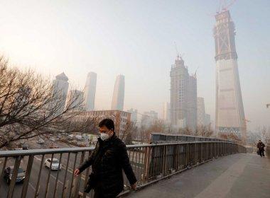 Cidade chinesa registra nível de poluição 100 vezes maior que limite da OMS