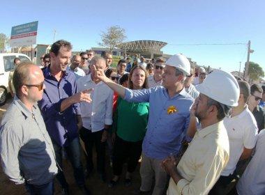 Rui Costa visita obras de policlínica Irecê que atenderá 19 cidades da região