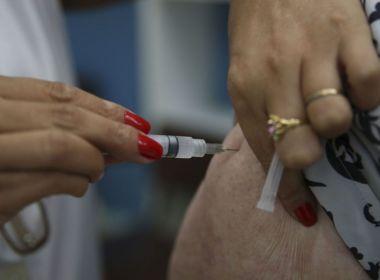 Bahia vacinou apenas 53% do público-alvo contra gripe; meta do governo é de 90%