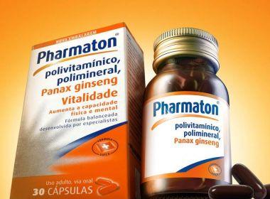 Anvisa proíbe 29 lotes do complexo de vitaminas Pharmaton