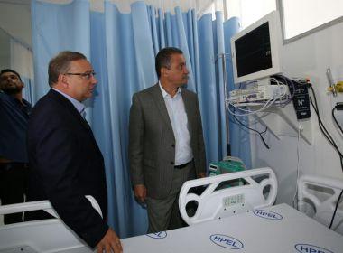 Rui inaugura UTI em hospital de Cajazeiras: 'Melhores equipamentos de UTI do mundo'