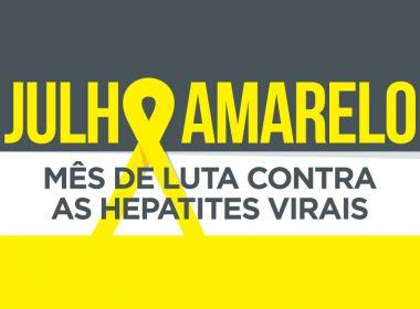 Sesab lança campanha de alerta sobre hepatites virais