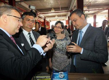 'Bahia quer se firmar como estado de produção científica', diz Rui em abertura de evento