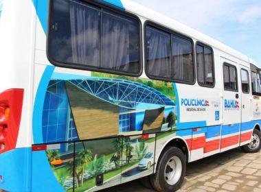 Policlínicas regionais contarão com micro-ônibus para transporte dos pacientes