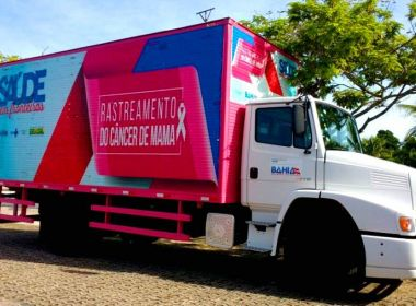 Rastreamento do Câncer de Mama atende mulheres em Conquista e Caraíbas