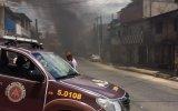 Criminosos incendeiam ônibus