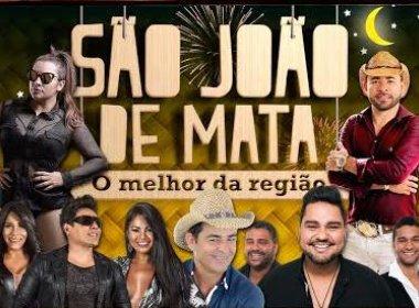 Festa junina de Mata de São João tem mais de 30 atrações confirmadas