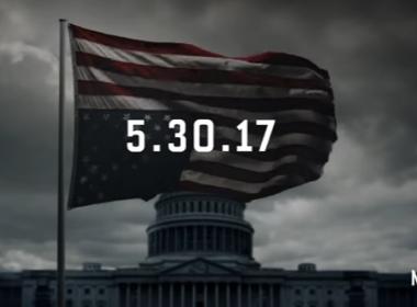 Netflix divulga teaser e data para lançamento da nova temporada de 'House of Cards'
