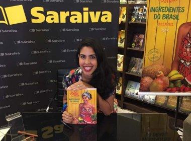 'O baianos são privilegiados nesse livro', diz Bela Gil sobre a nova obra