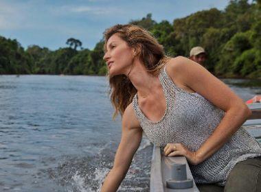 No Brasil, Gisele Bündchen faz pedido a Michel Temer; veja