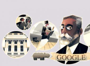 Google presta homenagem aos 178º aniversário de Machado de Assis