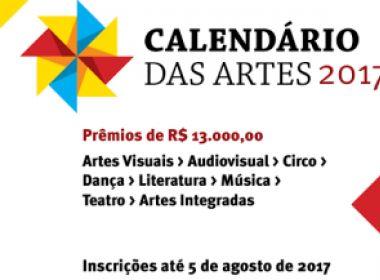Calendário das Artes abre inscrições para 1ª Chamada; confira