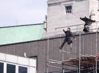 Tom Cruise se acidenta em cena e gravações de 'Missão Impossível 6' são suspensas