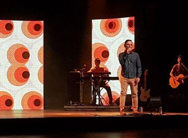 Paulo Miklos retorna a Salvador com show de novo disco 'A Gente Mora No Agora'