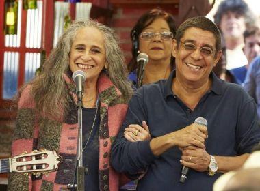 'De Santo Amaro a Xerém': Concha receberá turnê conjunta de Bethânia e Zeca Pagodinho