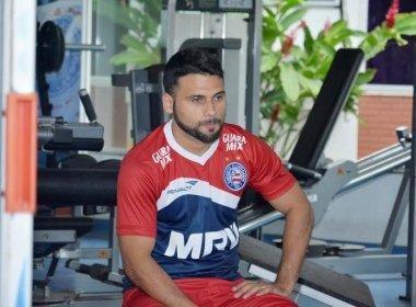 Bahia anuncia rescisão contratual do atacante Maxi Biancucchi