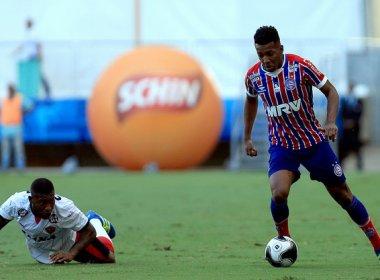 Bahia confirma a renovação de contrato do lateral-esquerdo Moisés