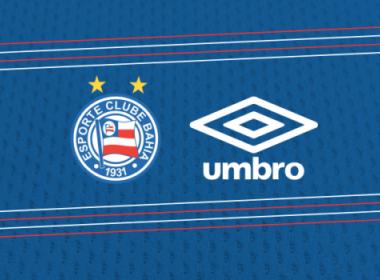 Bahia estreia novo uniforme contra o Bragantino, confirma diretor