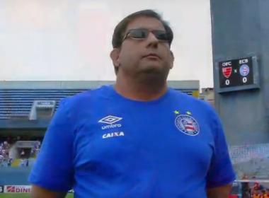 Após empate, Guto Ferreira exalta poder de reação do Bahia: 'Não vamos desistir'