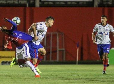Fora de casa, Bahia é derrotado pelo Paraná e deixa a Copa do Brasil