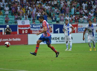 Hernane minimiza penalidade perdida e garante gol no Ba-Vi: 'Eu vou meter gol'