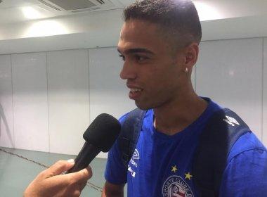 Provável lateral do Bahia no clássico, Éder diz: 'Vencer fora de casa é primordial'