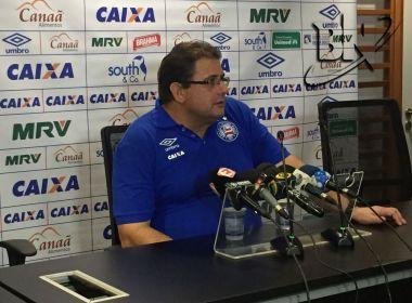 Guto vê 'decréscimo' do Bahia no 2ª tempo e pensa na decisão no Barradão: 'Iremos buscar'