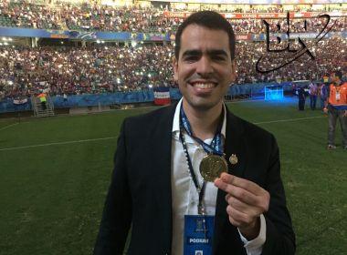 Marcelo Sant'Ana: 'O maior do Nordeste está aqui na Fonte Nova de novo'