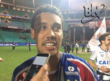 'Saiu na hora certa', comemora Edigar Junio, herói do título do Bahia