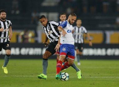 Lesionado contra o Botafogo, Régis volta a preocupar DM do Bahia